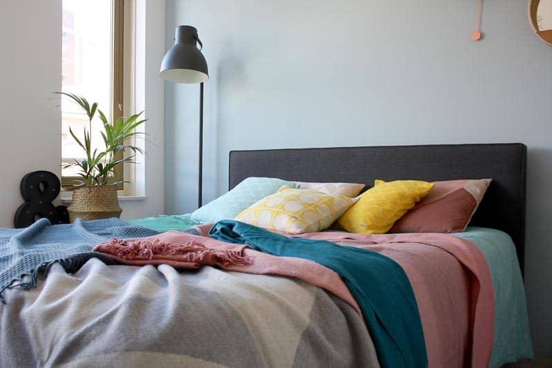 bed slaapkamer zolder