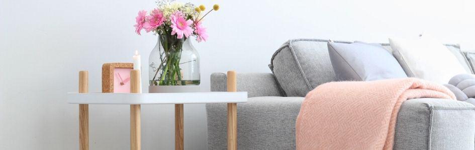 blog roze interieur kussens plaids
