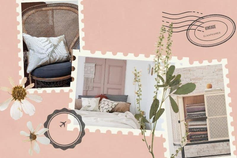 vintage slaapkamer