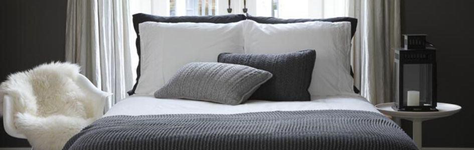 dekbedovertrek slaapkamer hotelsfeer