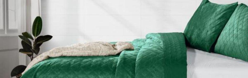 Haal de natuur in huis met een groen dekbedovertrek