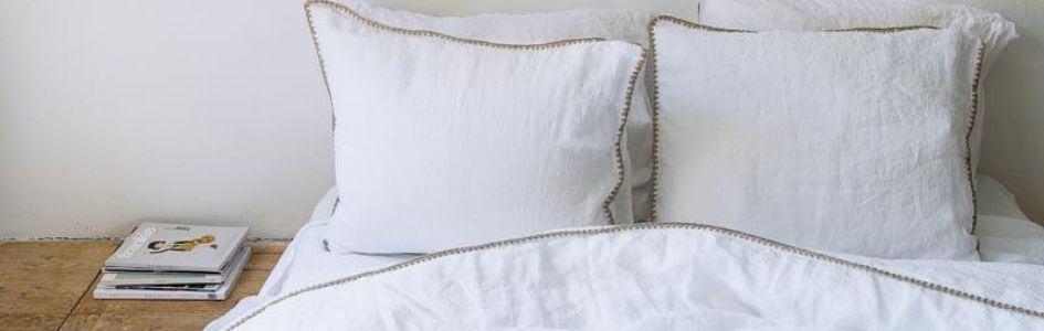 Rustig slapen met een wit dekbedovertrek