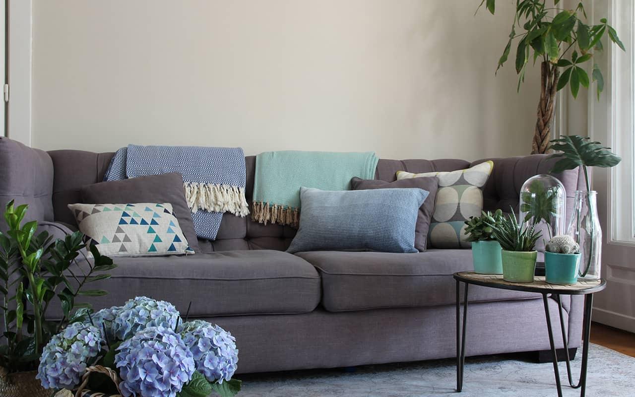5 tips om sfeer te brengen in je woonkamer