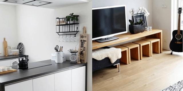 binnenkijken woonkamer keuken