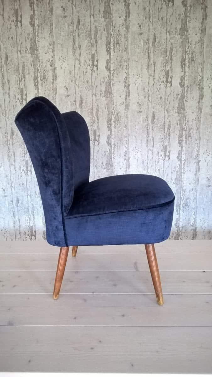 beklede stoel fluweel