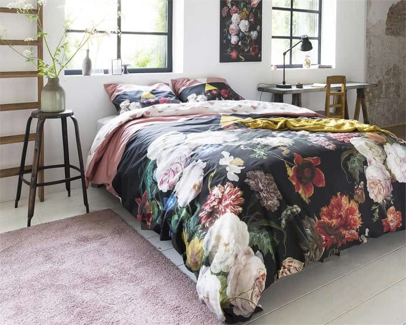 dekbedovertrek rozen slaapkamer