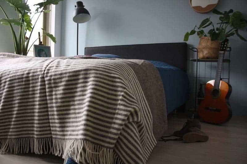 deken wol slaapkamer