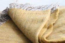 geel plaid klippan wol