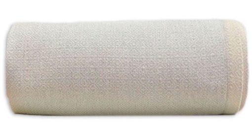 grand foulard lichtgrijs katoen diamant