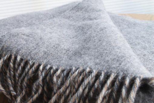 grijs plaid wol klippan