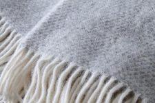 grijze plaid wol tweedmill