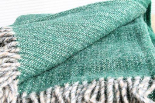 groen plaid wol klippan