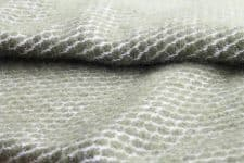 groene plaid lamswol