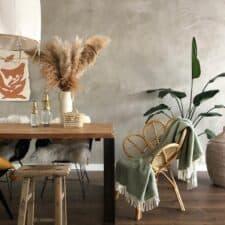 groene plaid wol tweedmill