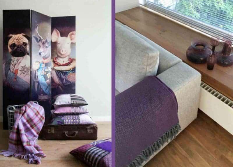 inspiratie ultra violet interieur