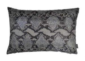 Kussen zilver Snake