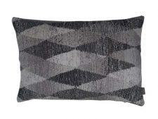 Kussen grijs zwart