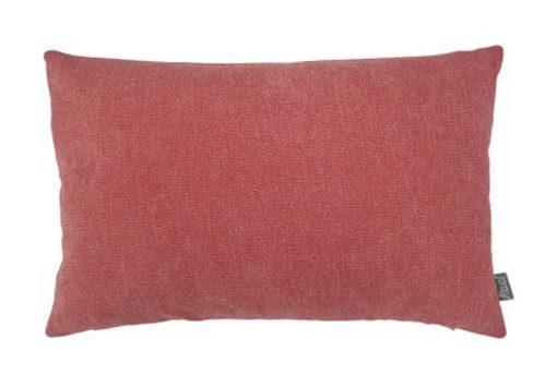 Kussen koraal roze-rood langwerpig