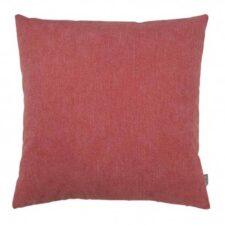 Kussen koraal roze-rood vierkant