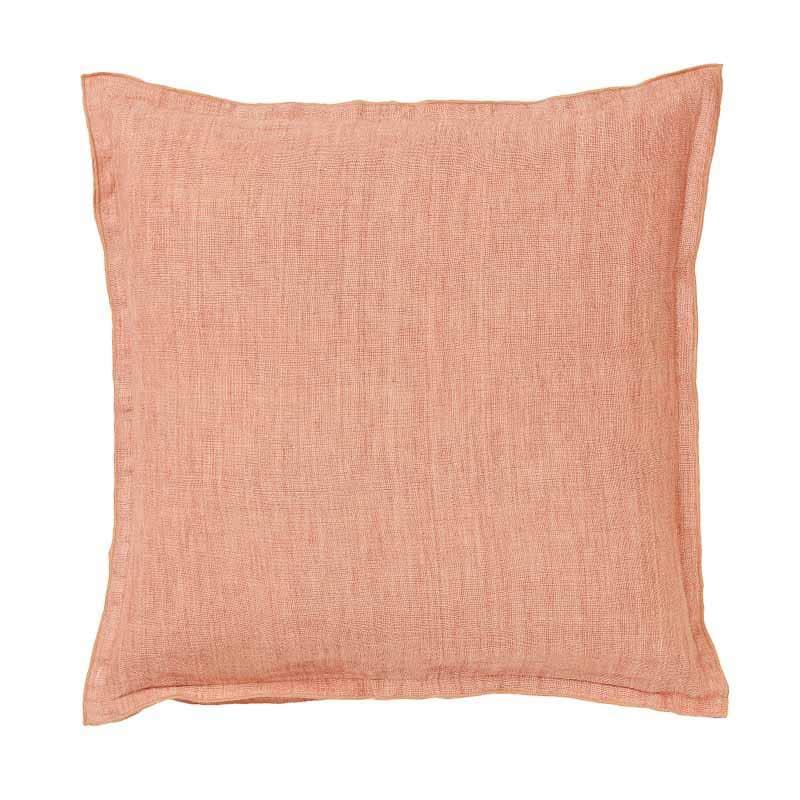 Verwonderlijk Kussen roze van linnen | Prachtige kwaliteit | Meloen roze ZV-86
