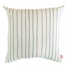 Kussen blauw strepen Simple Stripe