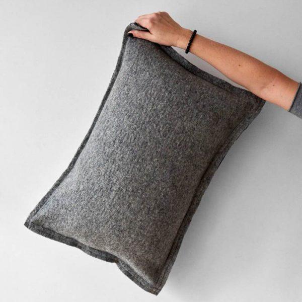 Kussen grijs