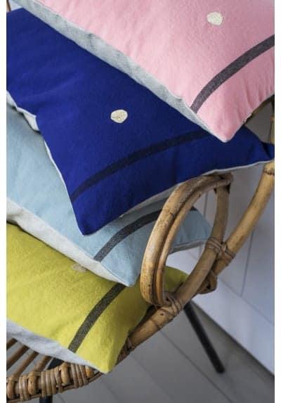 kussens streep kleuren la Cerise sur le Gateau