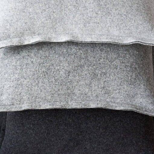 kussens grijs wolvilt moyha detail