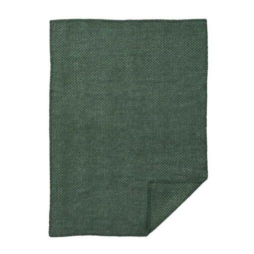 ledikantdeken groen wol klippan
