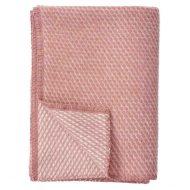 Ledikantdeken wol roze Velvet