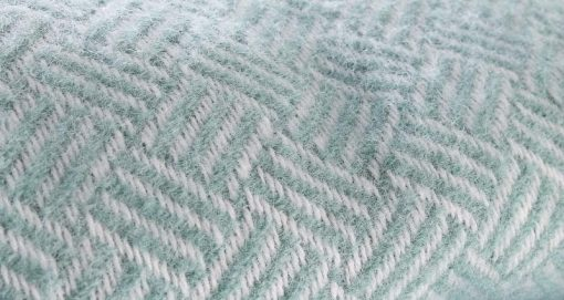 mintgroene plaid klippan wol