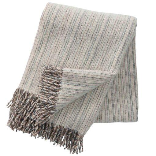 plaid beige lamswol gemeleerd klippan bjork