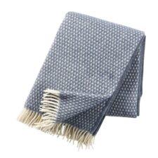 plaid blauw lamswol klippan knut