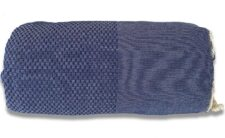 plaid donkerblauw blauw katoen sprei grand foulard