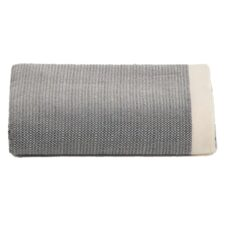 plaid donkergrijs diamant katoen grand foulard
