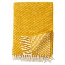 plaid geel lamswol klippan velvet