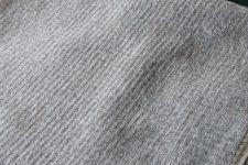plaid grijs alpacawol ruitjes