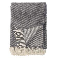plaid grijs lamswol klippan velvet