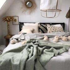 plaid groen tweedmill wol grijs