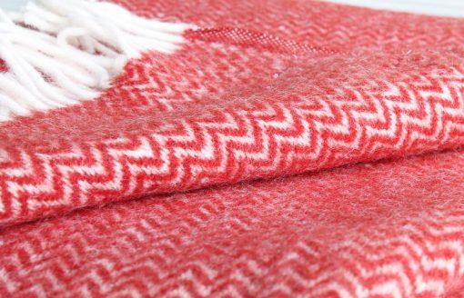 plaid rood klippan wol