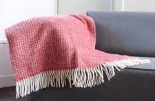 plaid rood wol tweedmill illusion