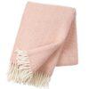 plaid roze lamswol klippan samba