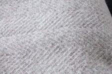 plaid wol grijs tweedmill