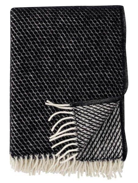 plaid zwart lamswol klippan velvet
