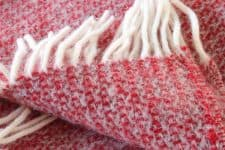rode plaid wol illusion tweedmill