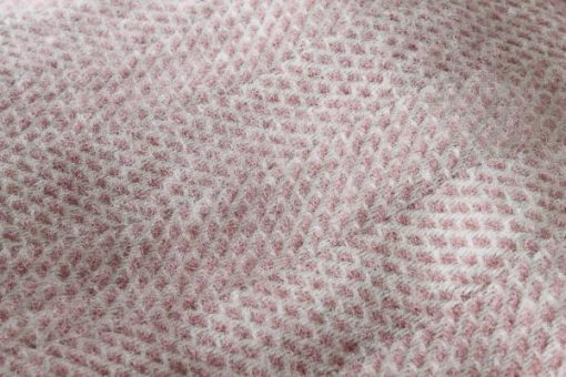 roze plaid tweedmill wol