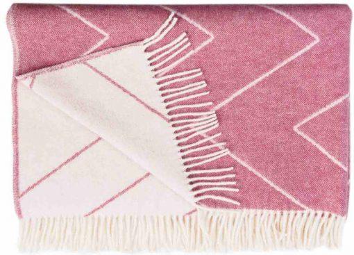 Plaid roze Rita  Blush