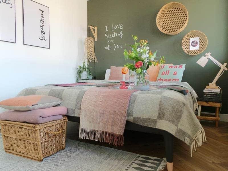 slaapkamer kussens dekens