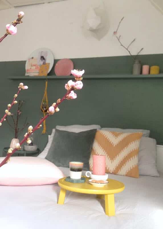 slaapkamer lente bloesem