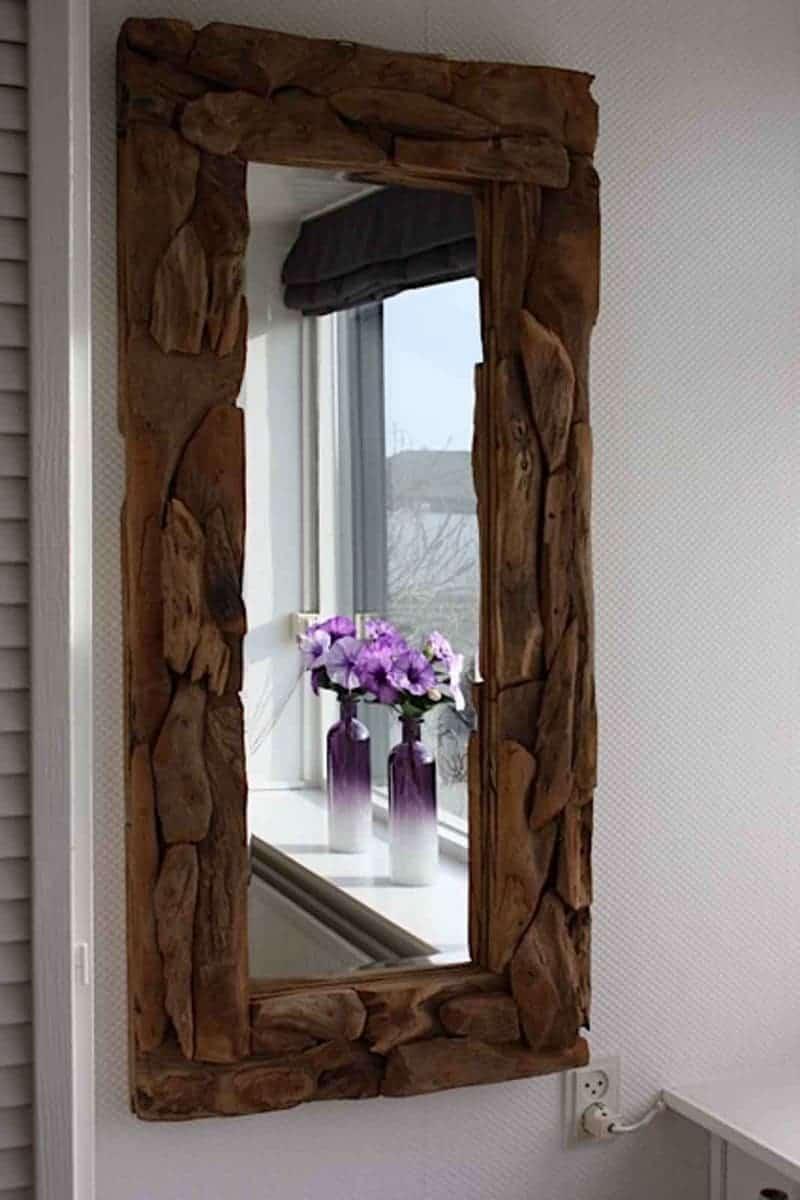 spiegel paarse slaapkamer